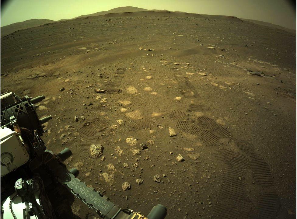 Imágenes del Perseverance en Marte.