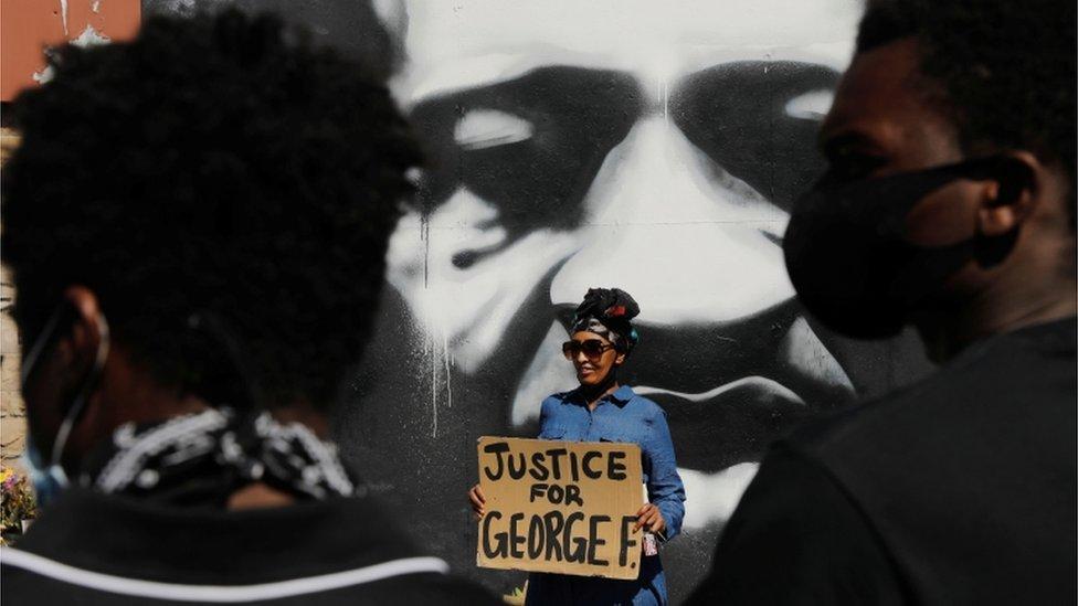 مقتل جورج فلويد أثار احتجاجات واسعة في الولايات المتحدة