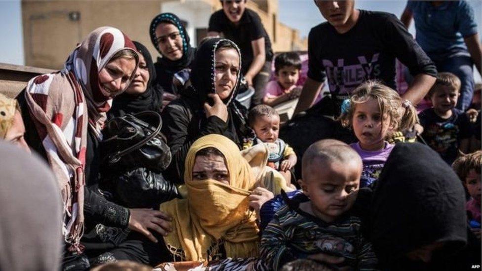 ffoaduriaid Syria yn Nhwrci
