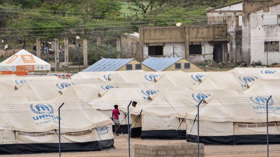 Acnur ha tenido que establecer en Colombia campos para acoger a los refugiados venezolanos.