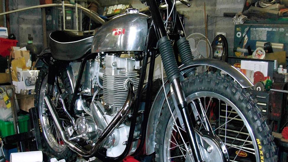 Swansea father and son 'gutted' about vintage motorbike theft