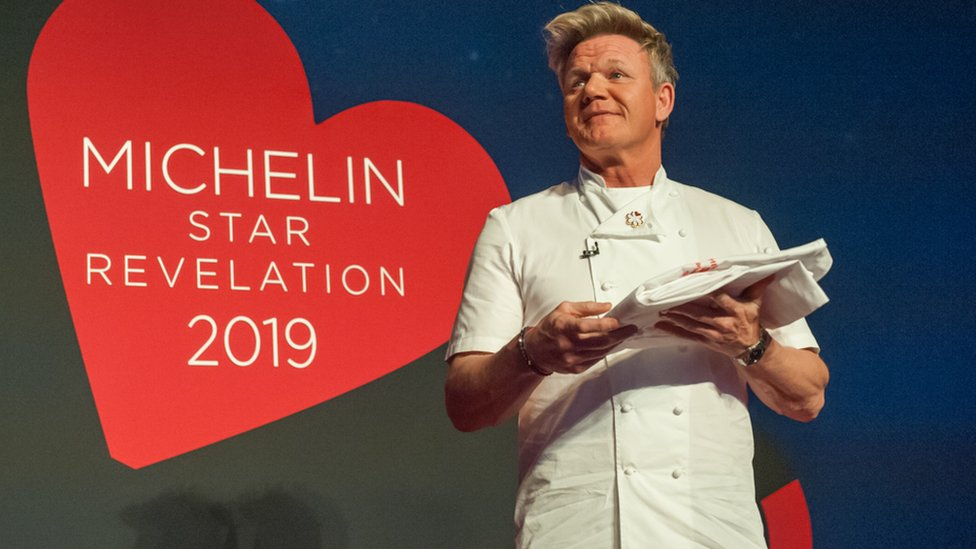 Gordon Ramsay gave out the new Michelin Stars for 2019