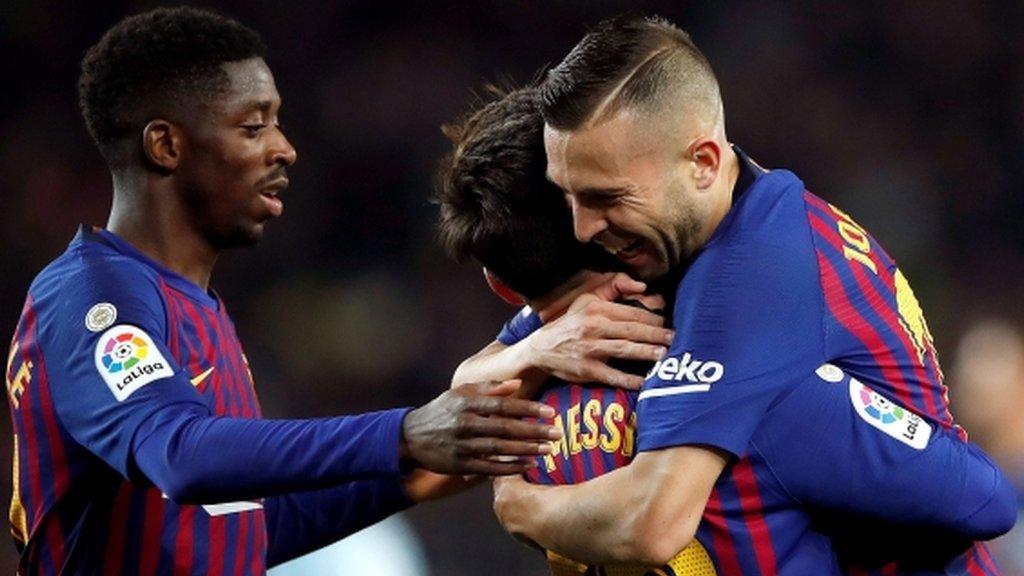 Barcelona fight back to reach Copa del Rey quarter-finals