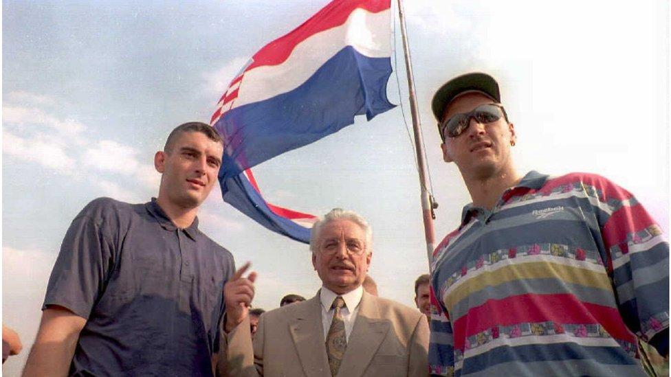 Knin, 6. avgust 1995.