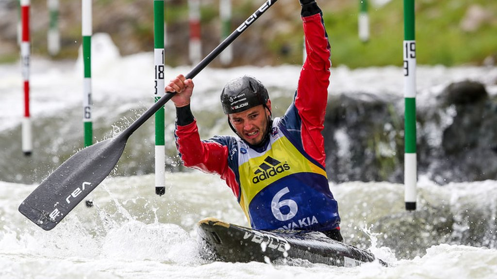 Canoe Slalom World Cup: Ryan Westley wins C1 bronze