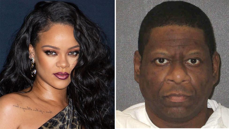 Rihanna y Rodney Reed.
