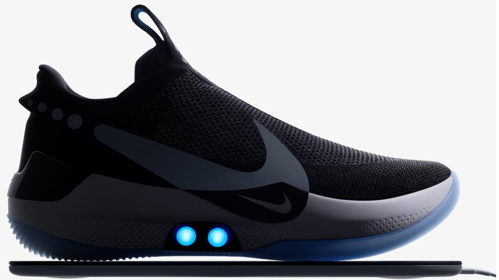 Nike app for self-tying shoe comes