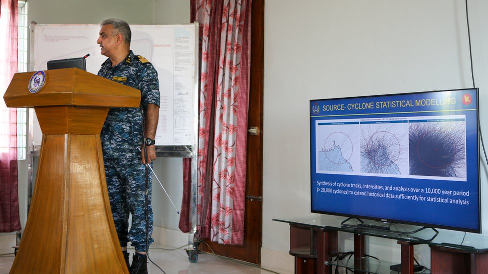Commodore Chowdhury speaks about possible cyclonic activity close to the island
