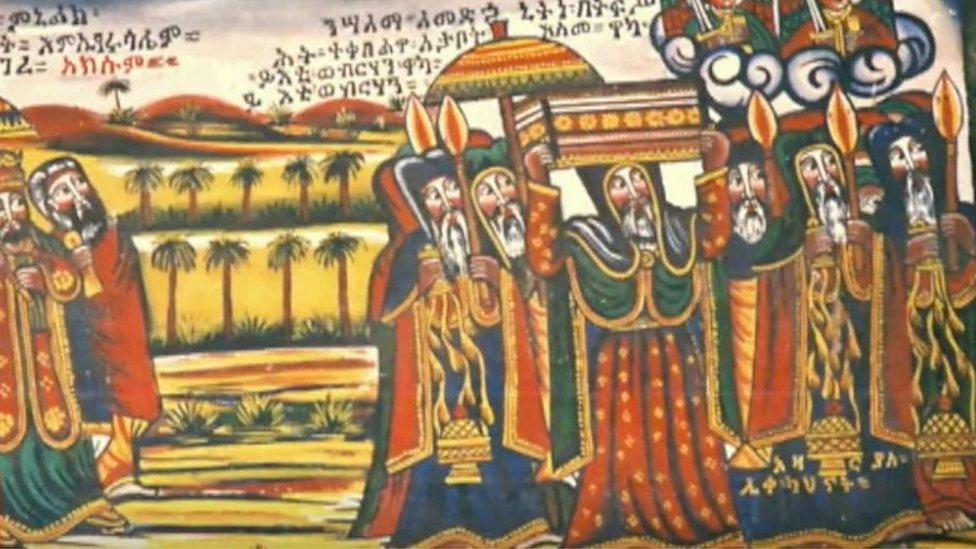 تيغراي موطن مملكة أكسوم التاريخية ومعظم السكان من المسيحيين الأرثوذكس