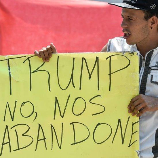 Una parte de la oposición venezolana puso sus esperanzas de cambio en una intervención de Estados Unidos.