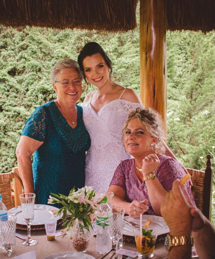 Terezinha, Tallyta e Inês