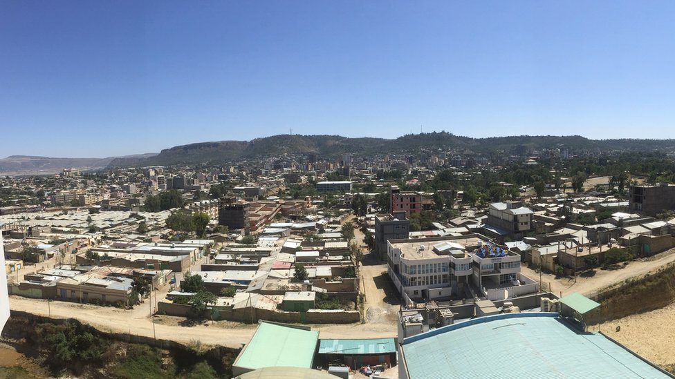 View of Mekelle