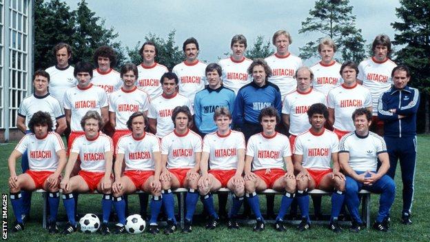 Hamburg's team photo of 1978
