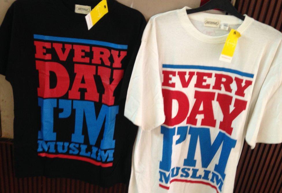 Everyday I'm Muslim t-shirts