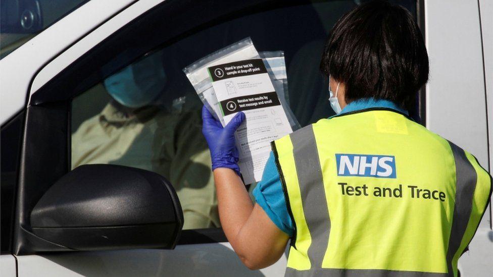 Trabajador sanitario en Tyneside