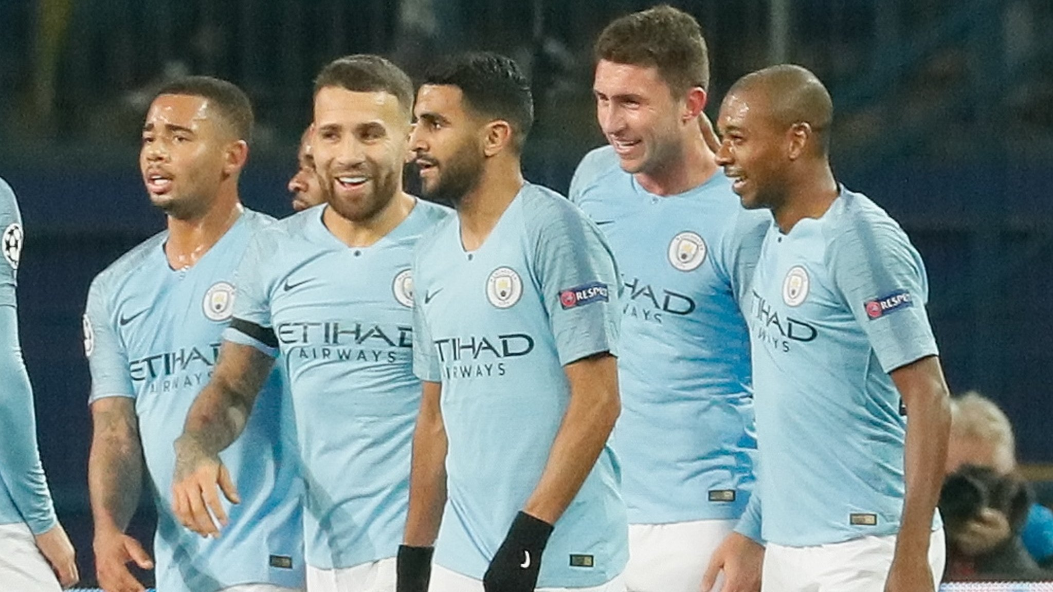 Shakhtar Donetsk 0-3 Manchester City: Guardiola's men go top of Champions League group