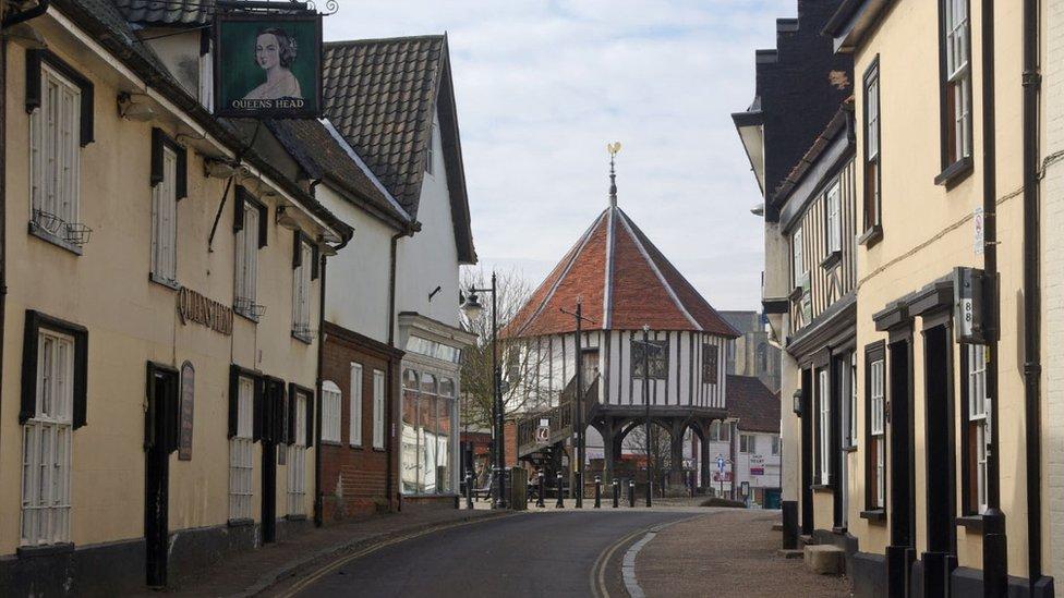 Bridewell Street and the Market Cross, Wymondham