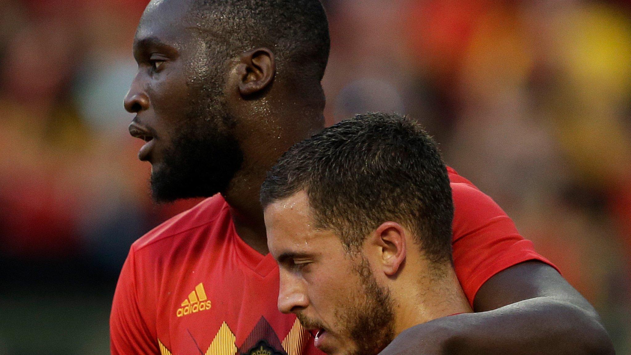 Eden Hazard says Romelu Lukaku was 'hiding' during Belgium win over Panama