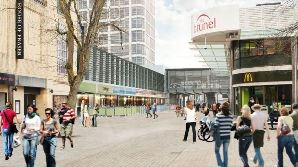 Canal Walk shops turned into cafes to reverse decline