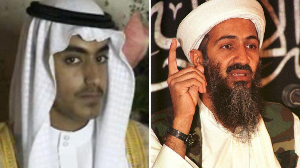 Hamza bin Laden y Osama bin Laden