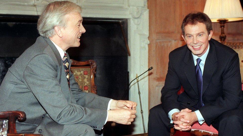 John Humphrys and Tony Blair