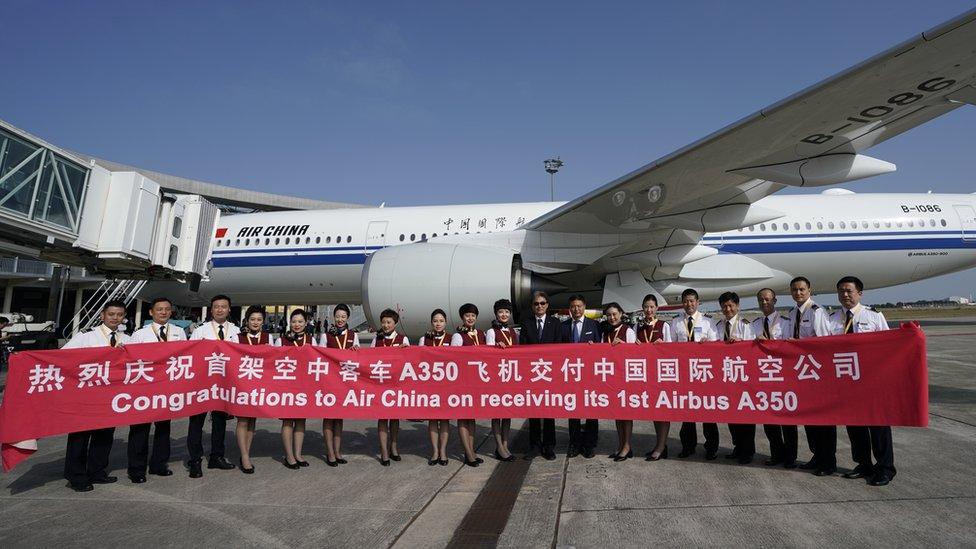 Las principales líneas aéreas de China han invertido millones de dólares en dotarse de nuevos y modernos aviones.