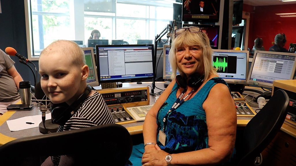 BBC's Sue Marchant fulfils cancer patient's wish