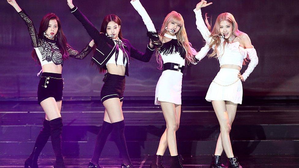 Girl group Blackpink