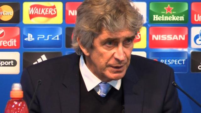 Manchester City boss Manuel Pellegrini