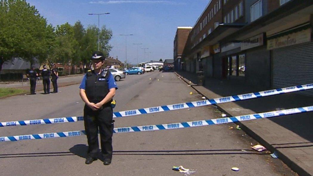 Four men injured in stabbing in Llanrumney, Cardiff