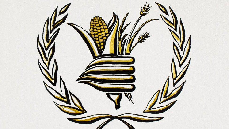 Ilustración Programa Mundial de Alimentos.