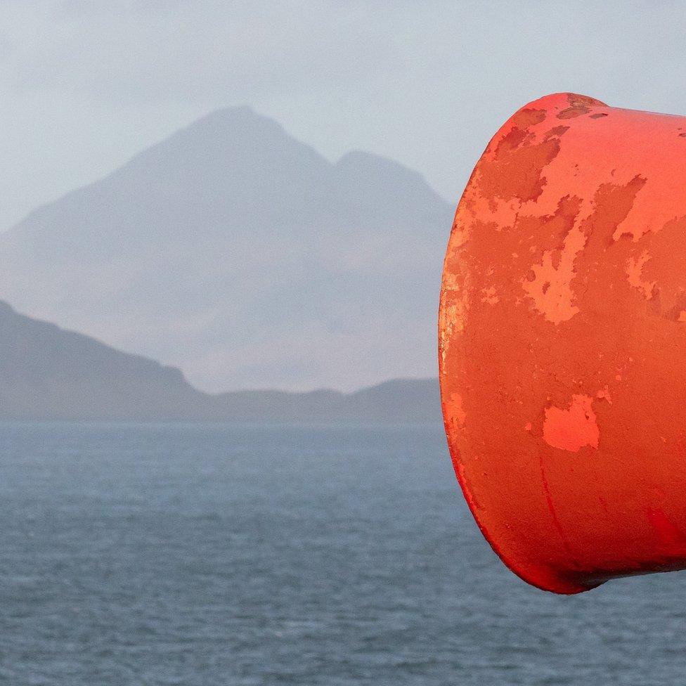 Sirena za maglu na ostrvu Ram u svetioniku Ardnamarčan