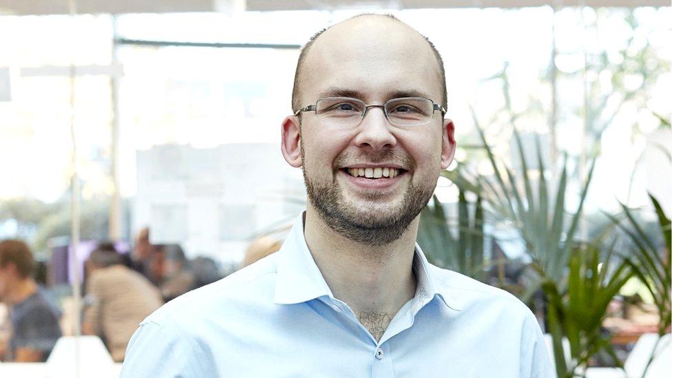 James Matthews, the chief executive of Ocado Technology