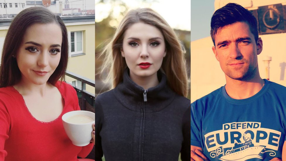Brittany Pettibone, Lauren Southern, and Martin Sellner