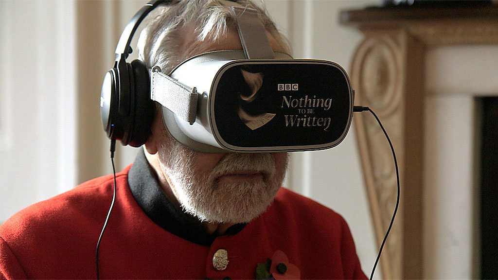 Chelsea Pensioners' verdict on WW1 VR experience