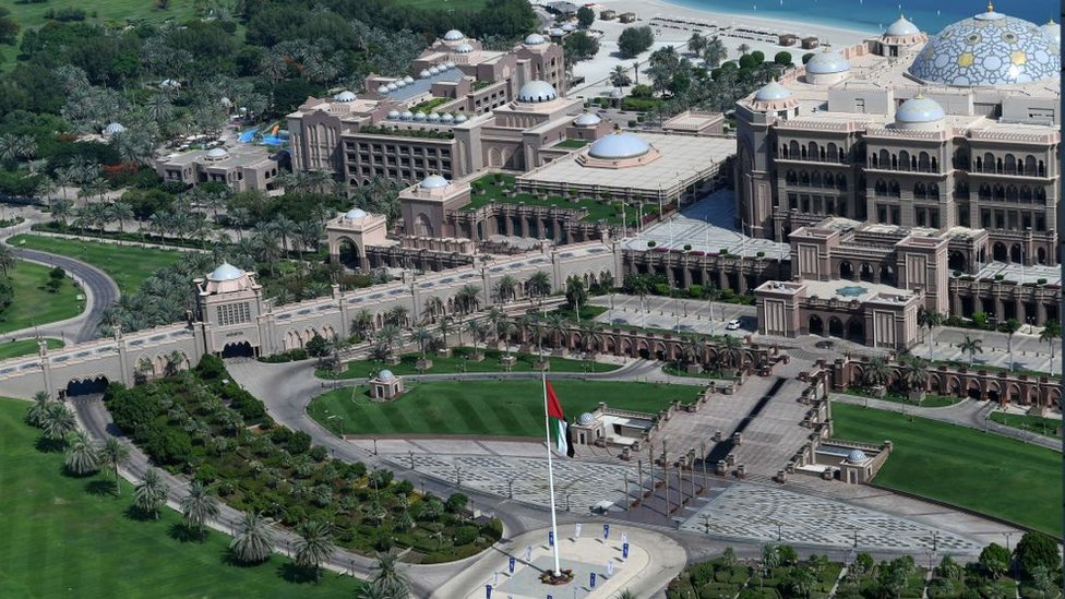 Vista del Emirates Palace.