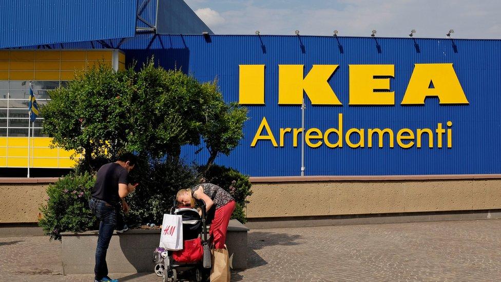 Ikea in Italy row over sacked Milan single mum
