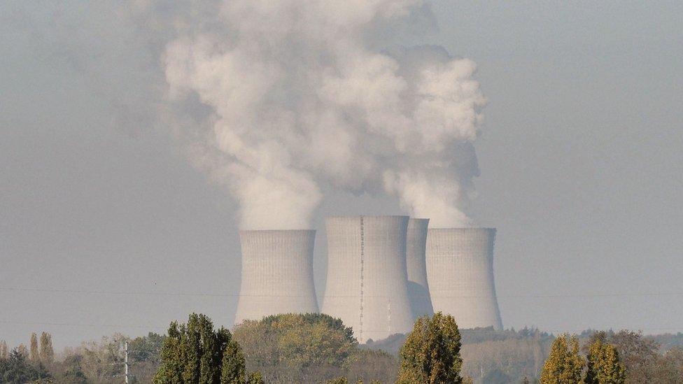 مفاعل نووي في فرنسا