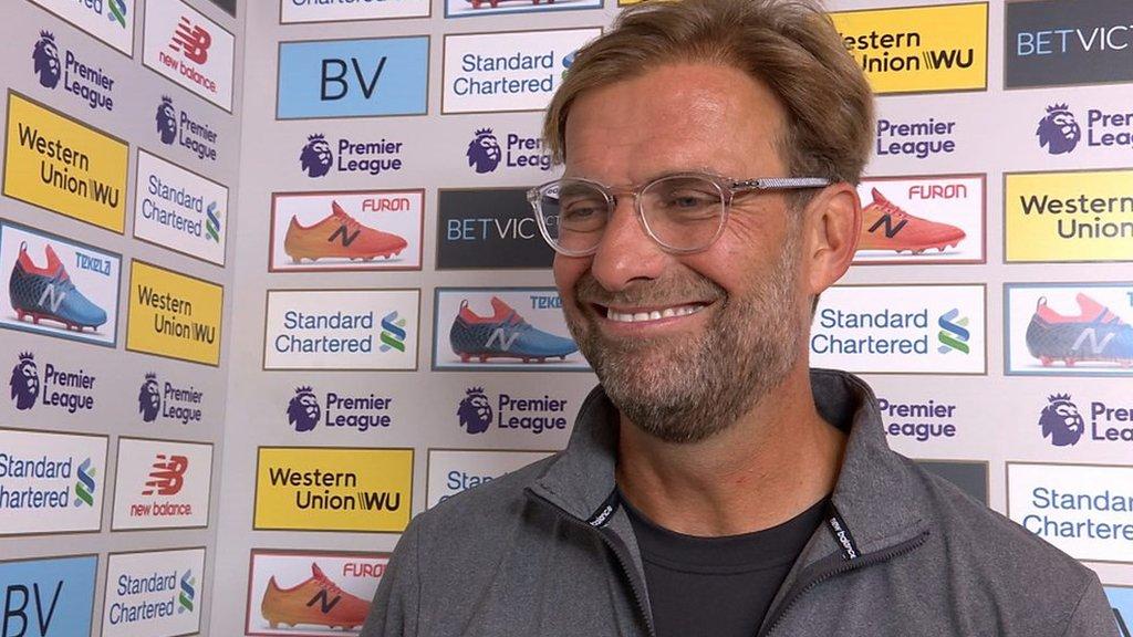 Liverpool 4-0 West Ham: Jurgen Klopp says Reds better than he expected