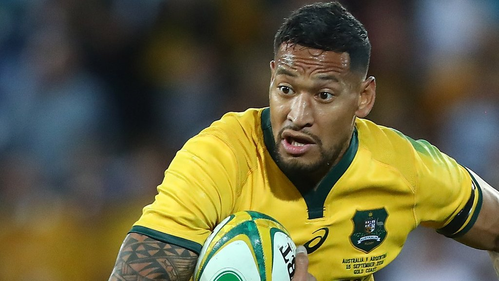Sacked Folau requests hearing over anti-gay post