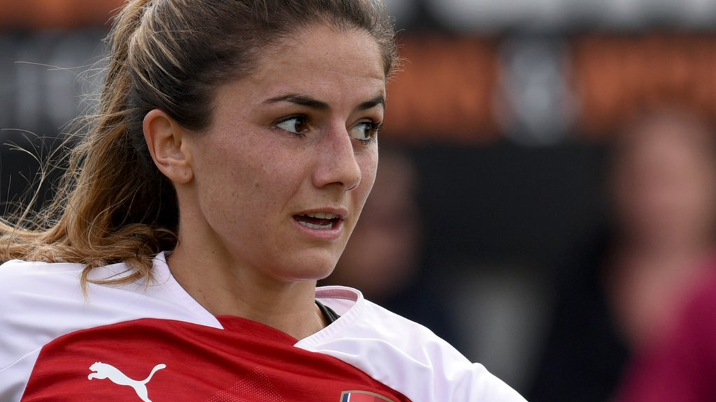 WSL: Arsenal Women 4-3 West Ham United Ladies