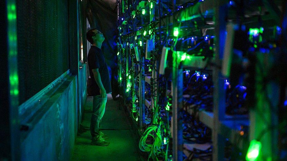 kína bitcoin market