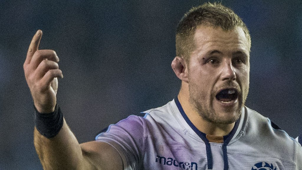 Allan Dell: Scotland & Edinburgh prop to join London Irish