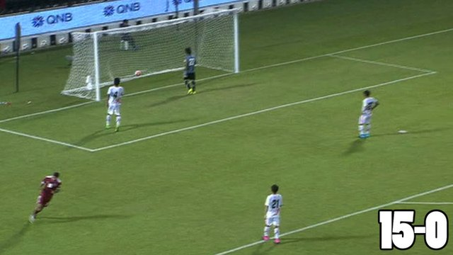 Qatar hit 15 past Bhutan