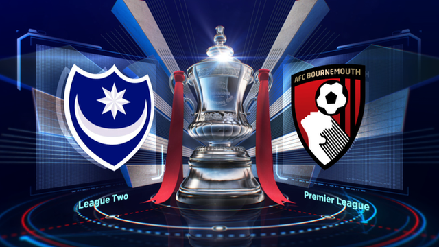 Highlights: Portsmouth 1-2 Bournemouth