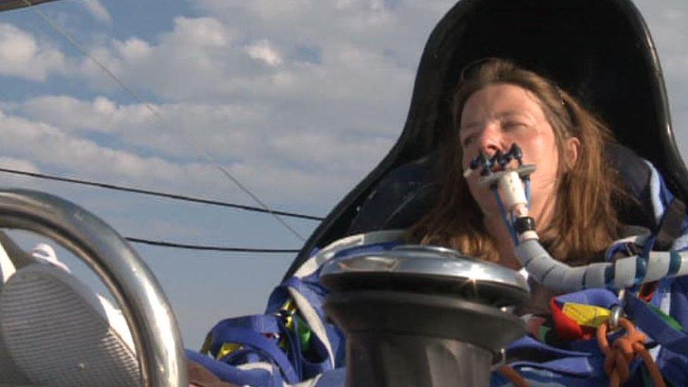 Hilary Lister: Record-breaking quadriplegic sailor dies