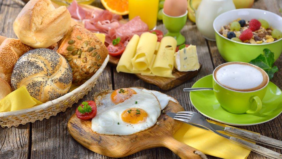 Bodegón de desayuno