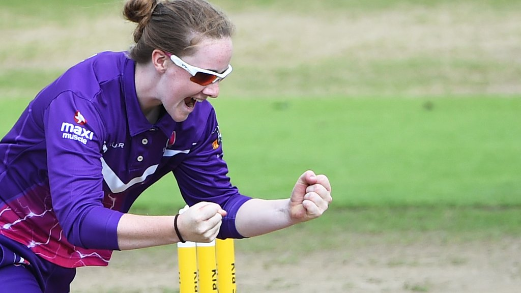 Kia Super League: Loughborough Lightning beat Western Storm by nine wickets