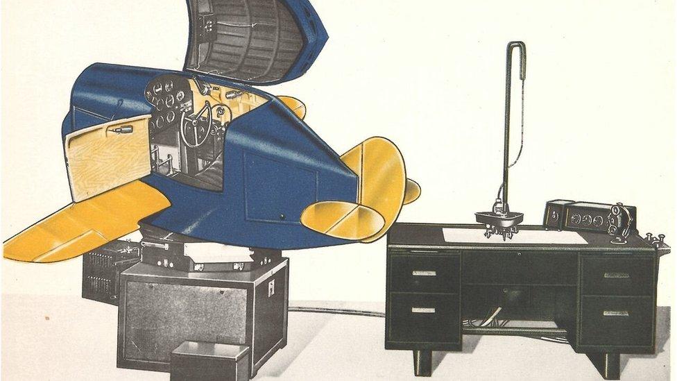 Illustration of Blue Box simulator