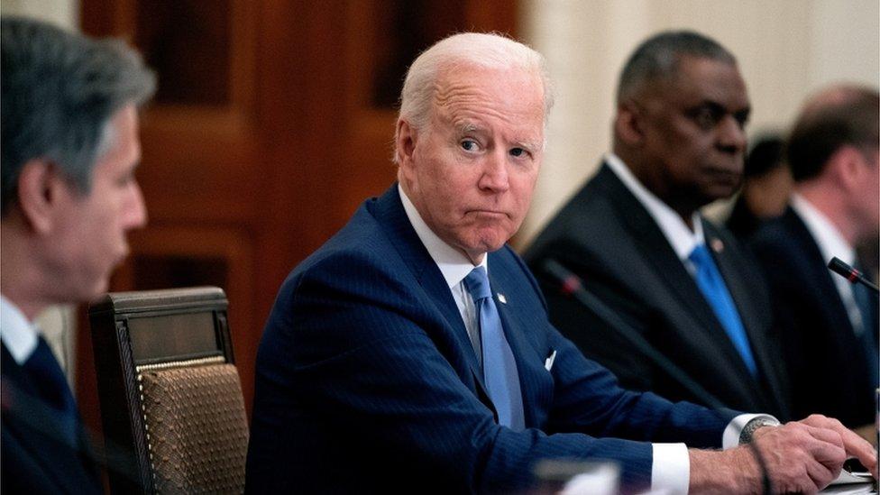 ABD Başkanı Biden, istihbarat servislerinden 90 gün içinde bir rapor hazırlamalarını istedi.